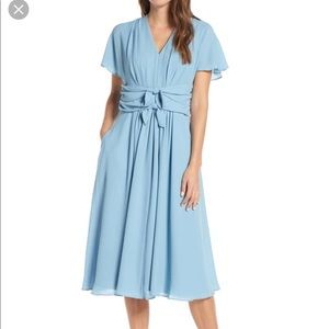 Gal Meets Glam Jane Dress, Soft Blue